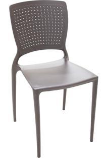 Cadeira Safira Tramontina 92048109 Summa Fibra De Vidro