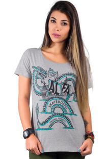 89503af538dfe ... Camiseta Alfa Candy Sneake Navy - Feminino