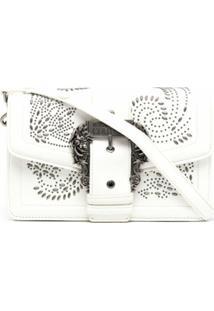 Versace Jeans Couture Embellished Shoulder Bag - Branco