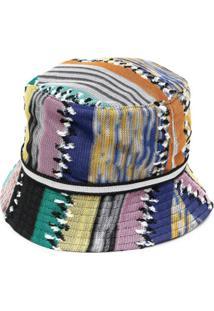 Missoni Chapéu Bucket Com Padronagem Trançada - Preto