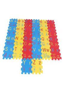 Tapete Alfabeto 4 Em 1 Em Eva Com 26 Peças - Carlu