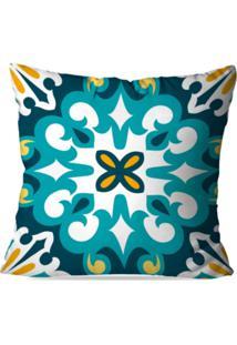 Capa De Almofada Avulsa Decorativa Mandala 35X35