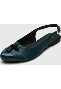 Sapatilha Dafiti Shoes Slingback Verde