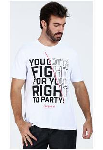 Camiseta Masculina Frase Frontal Marisa