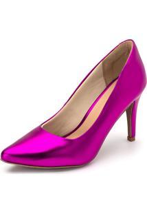 Sapato Scarpin Salto Alto Gisela Costa Rosa - Tricae