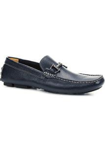 Mocassim Couro Shoestock Drive Masculino - Masculino