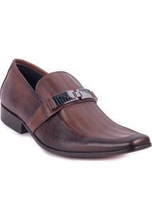 Sapato Perlatto De Metal Pinhão 43