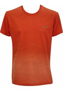 Camiseta Pau A Pique Tie Dye - Masculino-Laranja