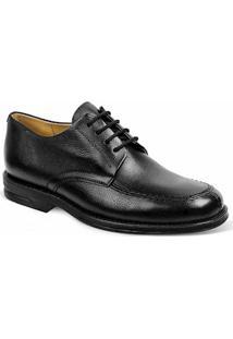 Sapato Social Masculino Derby Sandro Moscoloni Premium Preto