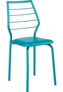 Conjunto 2 Cadeiras 1716 Casual Napa Turquesa Turquesa