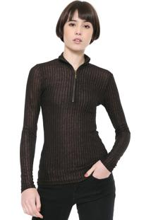 Camiseta Triton Lace Up Vinho