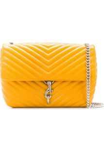 Rebecca Minkoff Edie Shoulder Bag - Amarelo