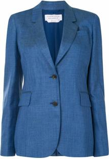 Gabriela Hearst Herringbone Tailored Blazer - Preto