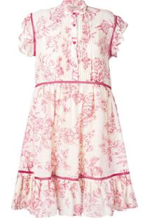 Twin-Set Floral Dress - Neutro