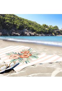 Toalha De Praia / Banho Floral Paradise