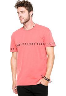 Camiseta Triton Smith Coral