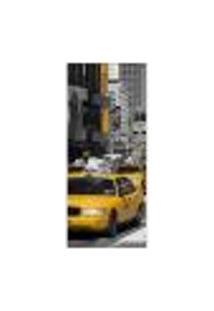 Adesivo Decorativo De Porta - New York - 647Cnpt Auto Colante