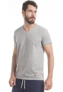 Camiseta Zaiden Store Zaiden Basic T1 - Masculino-Cinza Claro