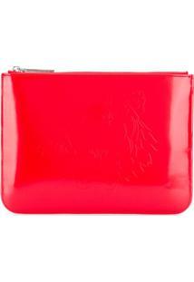 Kenzo Tiger Logo Clutch Bag - Vermelho