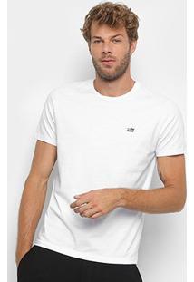 Camiseta Ellus 2Nd Floor Co Basic Masculina - Masculino-Branco