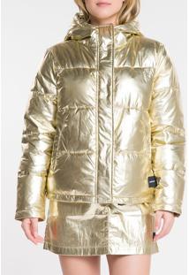 Jaqueta Ckj Fem Mw Gold - Amarelo Ouro - M