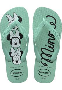 Sandálias Havaianas Top Disney Verde