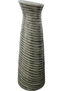 Vaso De Cerâmica Elegance Kasa Ideia