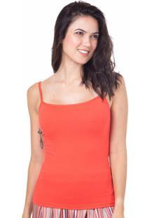 Camiseta Regata Homewear Vermelho - 589.0720 Marcyn Lingerie Pijamas Vermelho