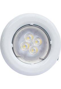 Spot Fixo Para Lâmpada Led Gu10 Autovolt 3000K Sp14 Branco Taschibra