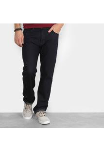 Calça Jeans Calvin Klein Five Pockets Masculina - Masculino-Marinho