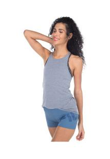 Camiseta Regata Fila Sunshine - Feminina - Cinza Claro