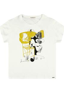 Camiseta Dzarm Branco