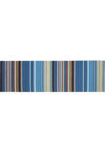 Passadeira Kilim Rainbow Blue Multi