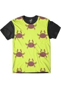 Camiseta Long Beach Náutica Caranguejo Sublimada Masculina - Masculino
