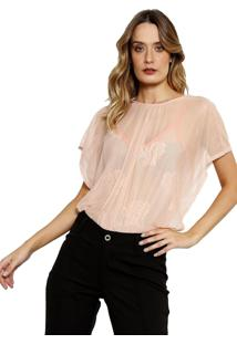 Body Transparente Youtwo Rosa