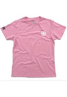 Camiseta Stoned Basic Masculina - Masculino-Rosa