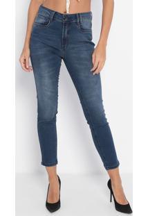 Jeans Skinny Diana - Azul Escuro- Lança Perfumelança Perfume