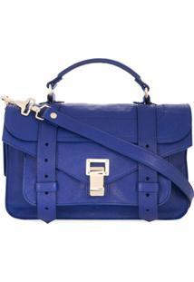 Proenza Schouler Bolsa Tiracolo Ps1 Pequena - Azul