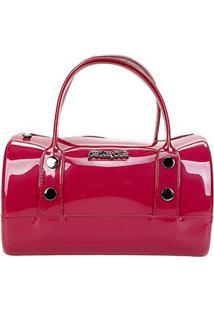 Bolsa Petite Jolie Bau Bag Feminina - Feminino-Pink