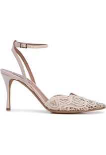f4f56f666 Sapato Bico Fino Renda feminino | Shoelover