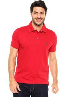 Camisa Polo Sergio K Skull Vermelho