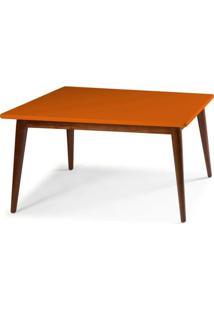 Mesa Jantar Novita 1.60 - Laranja - Tommy Design