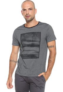 Camiseta Aramis Sombras Tropicais Cinza
