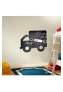 Adesivo De Lousa Para Parede Caminhão 20 - M 50X60Cm