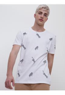 Camiseta Estampada Onças