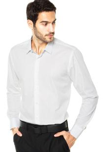 Camisa Vr Flor Geo Branca