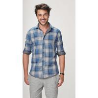 3832968222 Camisa Malwee Slim masculina