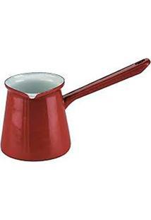 Cafeteira Turca 500Ml Vermelha