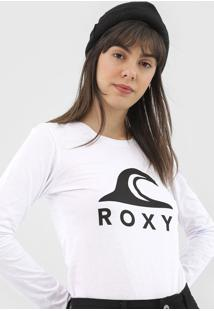 Camiseta Roxy With You Could Branca - Kanui