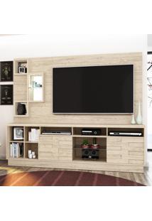 Estante Para Tv Heitor Até 65 Polegadas 633022 Rústico - Madetec